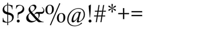 Zapf Renaissance B EF Book Font OTHER CHARS