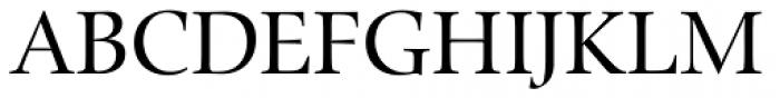Zapf Renaissance B EF Book Font UPPERCASE