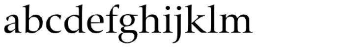 Zapf Renaissance B EF Book Font LOWERCASE