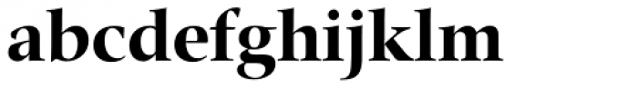 Zapf Renaissance H EF Bold Font LOWERCASE