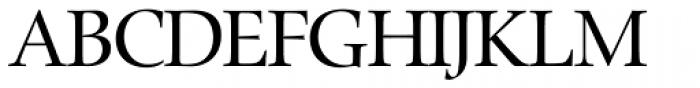 Zapf Renaissance H EF Book Font UPPERCASE