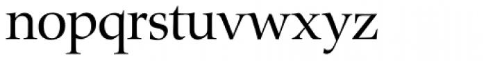 Zapf Renaissance H EF Book Font LOWERCASE