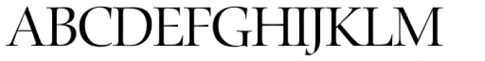 Zapf Renaissance H EF Light Font UPPERCASE