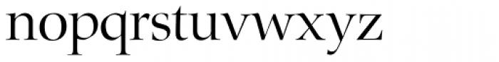Zapf Renaissance H EF Light Font LOWERCASE