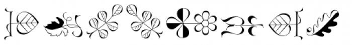 Zapfino Extra Ornaments Font OTHER CHARS