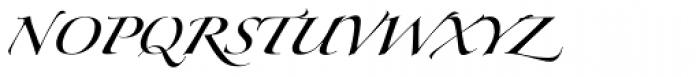 Zapfino Forte One Font UPPERCASE