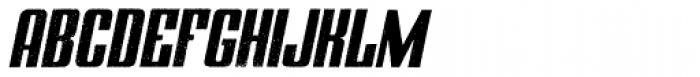 Zapora Italic Font UPPERCASE