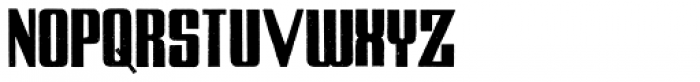 Zapora Font UPPERCASE