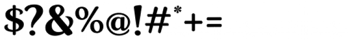 Zar Brush Gothic Font OTHER CHARS