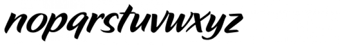 Zar2 Casual Font LOWERCASE