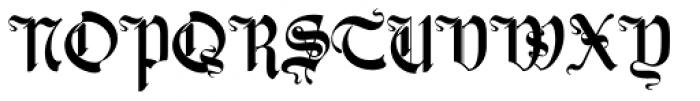 Zarlino Delux Font UPPERCASE