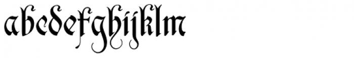 Zarlino Delux Font LOWERCASE
