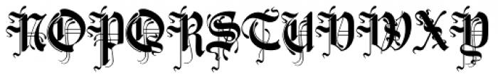 Zarlino Standard Alternate Font UPPERCASE