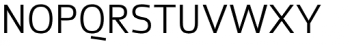 Zatro SemiLight Font UPPERCASE