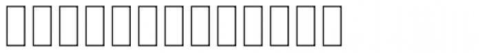 Zawiya Thin Font LOWERCASE