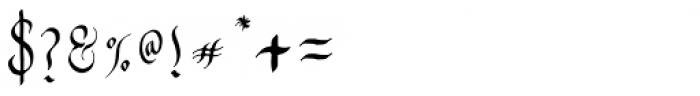 Zawlbuk Regular Font OTHER CHARS
