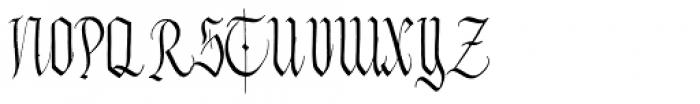 Zawlbuk Regular Font UPPERCASE