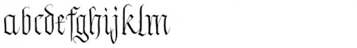 Zawlbuk Regular Font LOWERCASE