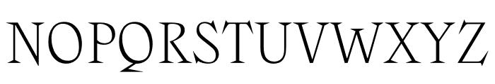 Zangezi Variable Font UPPERCASE