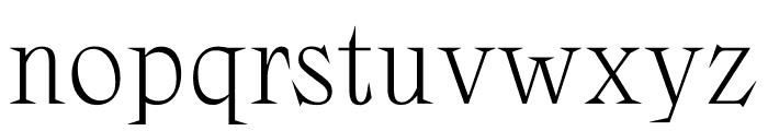Zangezi Variable Font LOWERCASE