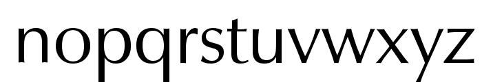 Zapf Humanist 601 BT Font LOWERCASE