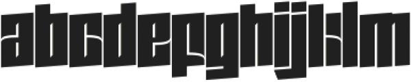Zdyk Scorpio otf (400) Font LOWERCASE