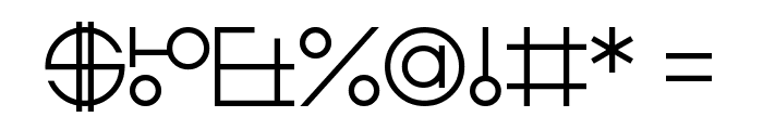 Zdyk Libra Font OTHER CHARS