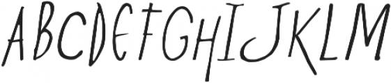 Ze otf (400) Font UPPERCASE