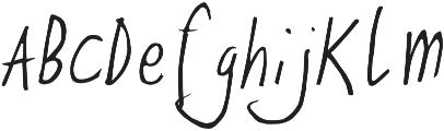 Ze otf (400) Font LOWERCASE