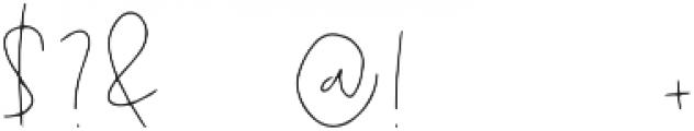 Zeatoner otf (400) Font OTHER CHARS
