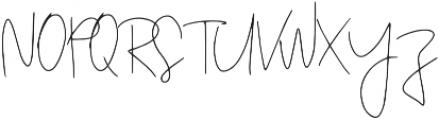 Zeatoner otf (400) Font UPPERCASE