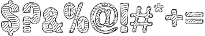 Zebra BBoard otf (400) Font OTHER CHARS