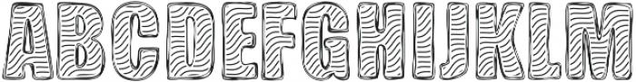 Zebra BBoard otf (400) Font UPPERCASE