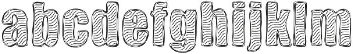 Zebra BBoard otf (400) Font LOWERCASE