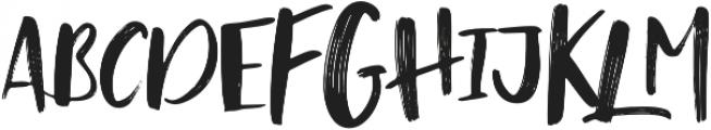 Zeitgeist Alternative otf (400) Font UPPERCASE