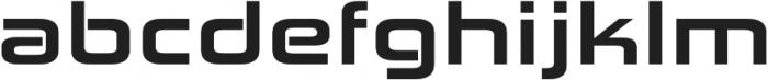 Zekton Extended Heavy otf (800) Font LOWERCASE