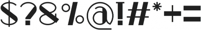 Zeky otf (400) Font OTHER CHARS