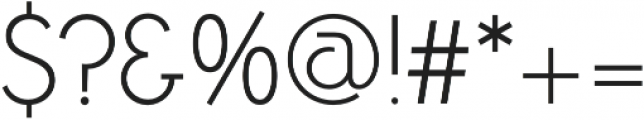 Zelda ExtraLight otf (200) Font OTHER CHARS