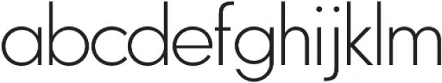 Zelda ExtraLight otf (200) Font LOWERCASE