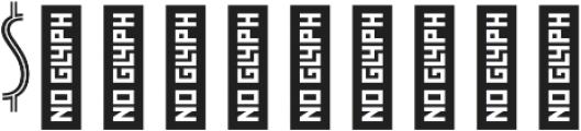 Zelda-NarrowInline Light otf (300) Font OTHER CHARS