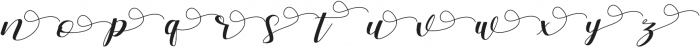 Zelifa ss01 otf (400) Font LOWERCASE