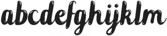 Zeligh Highlight otf (300) Font LOWERCASE