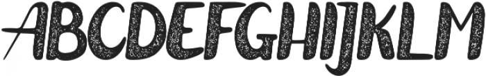 Zeligh Rough otf (400) Font UPPERCASE