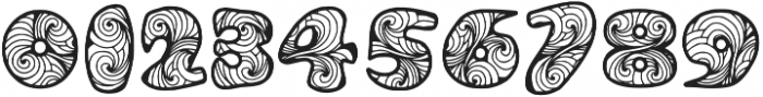 Zen3 otf (400) Font OTHER CHARS
