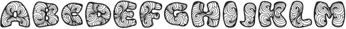 Zen3 otf (400) Font UPPERCASE