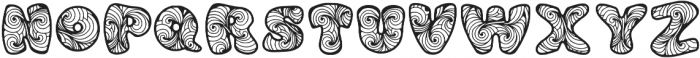 Zen3 otf (400) Font LOWERCASE