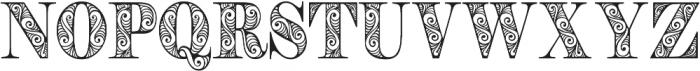 Zengo otf (400) Font UPPERCASE