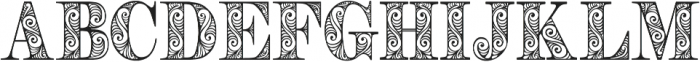 Zengo otf (400) Font LOWERCASE