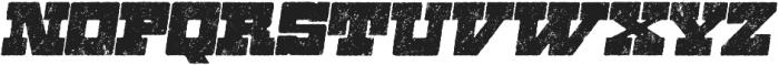 Zennat Pro Four Italic otf (400) Font LOWERCASE