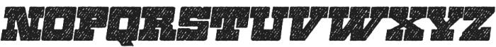 Zennat Pro Three Italic otf (400) Font LOWERCASE